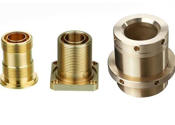 China Copper Brass Lathing Turning / CNC Brass Machined Parts For Radio Equipment supplier