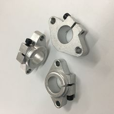 Customized  YSQ Silver Or Black Anodized Aluminum Alloy Die Casting Parts