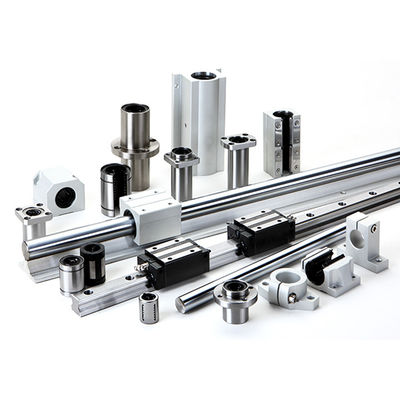 Precision SUS 20mm Linear Guide Shaft Industrial Automation Parts