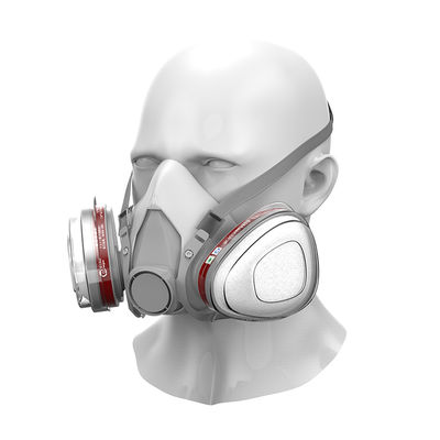 GB2626-2006 Antigas Full Face Reusable Painted Petrol Gas Mask